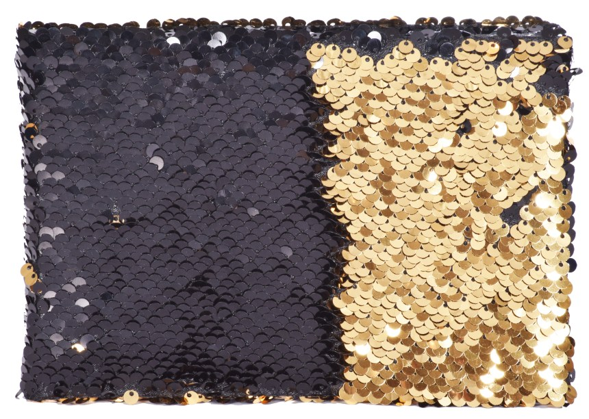 QS09977 Sequin Gold-Black 2
