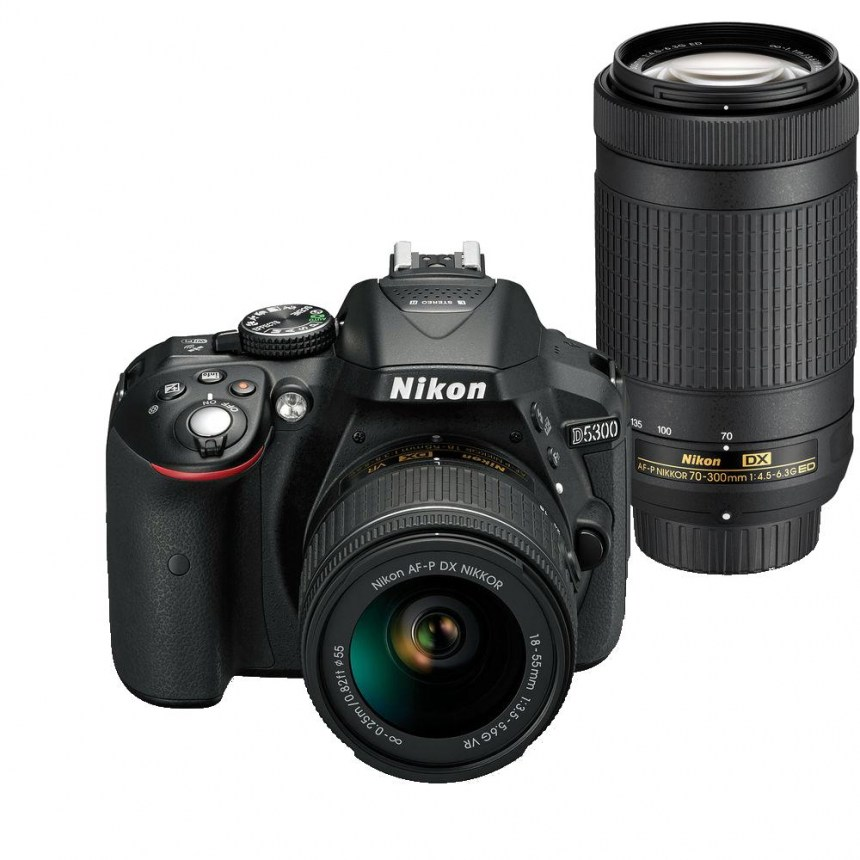 nikon-d5300-black-kit-18-55mm-vr-70-300mm-vr